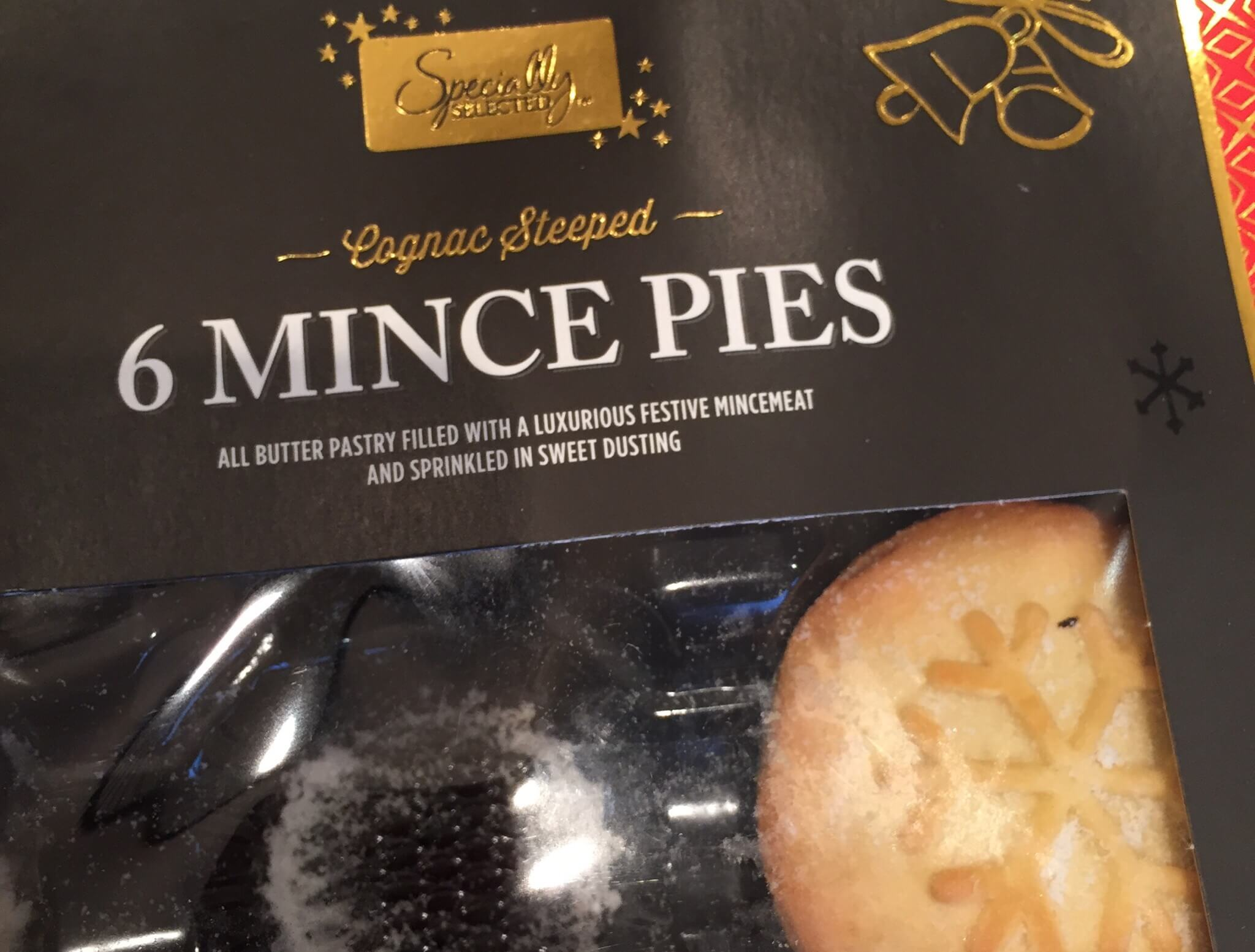 Aldi 'Specially Selected' Cognac Steeped Mince Pie Review