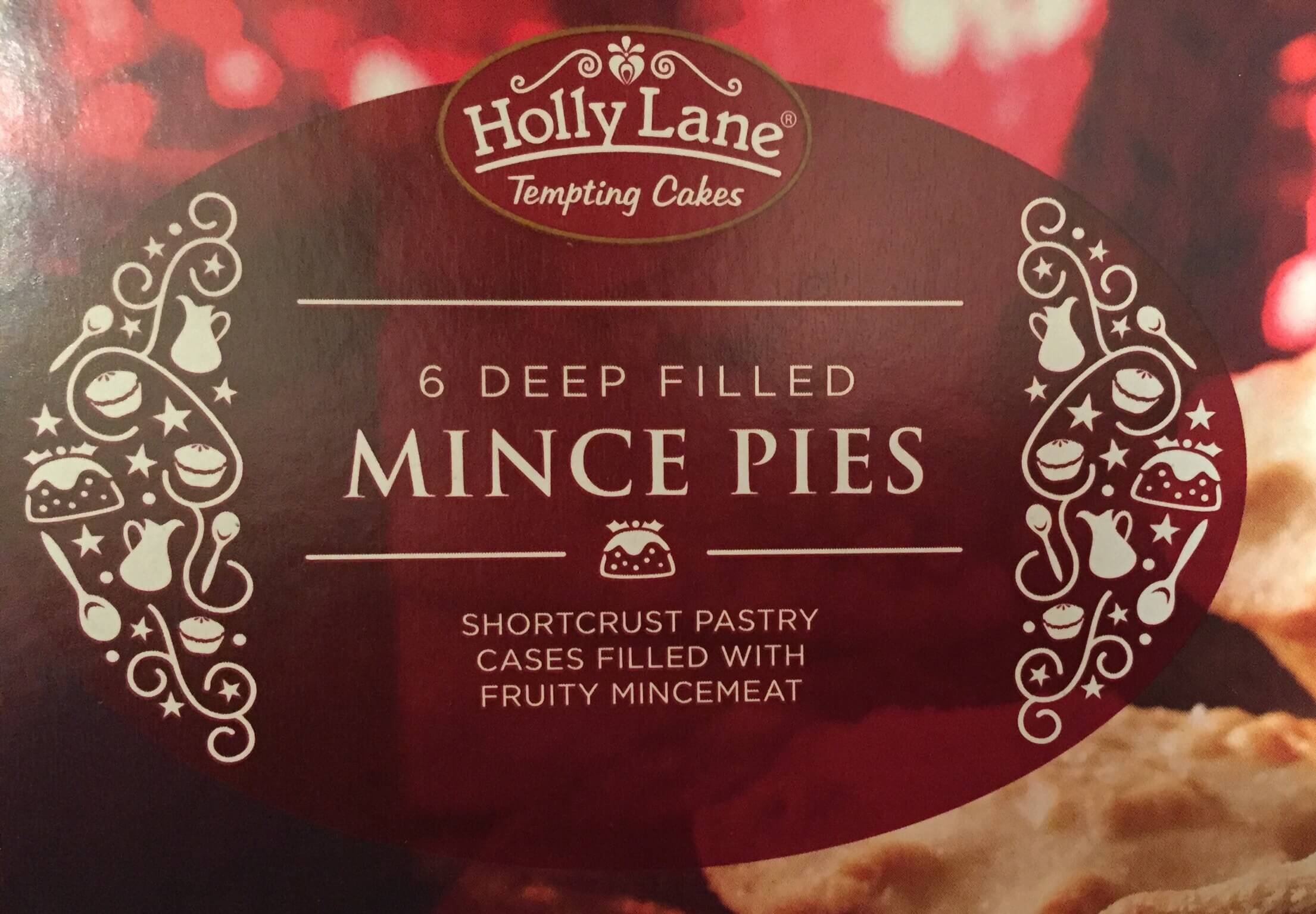 Aldi (Holly Lane) Deep Filled Shortcrust Mince Pie Review