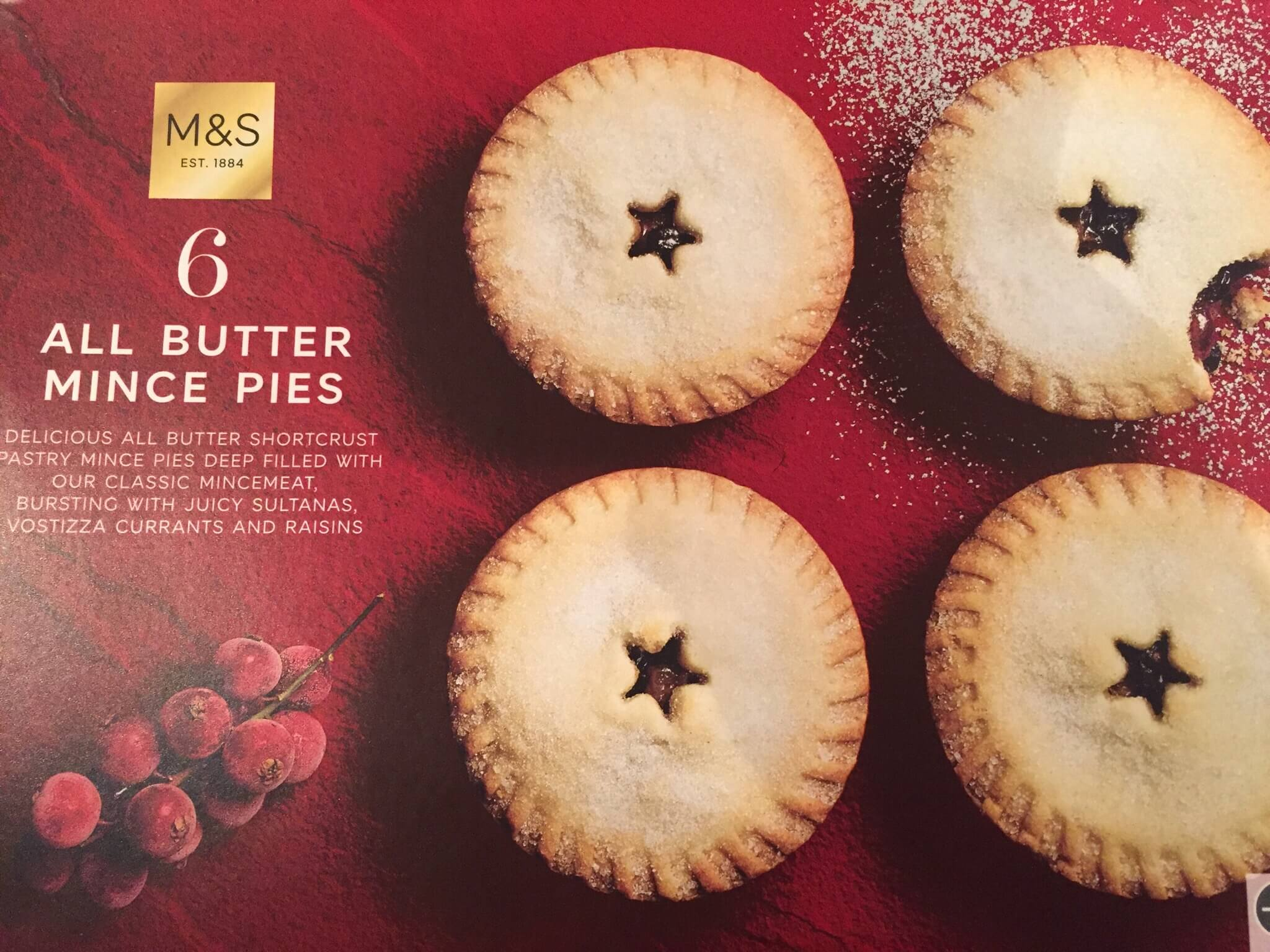 M&S All Butter Mince Pie Review