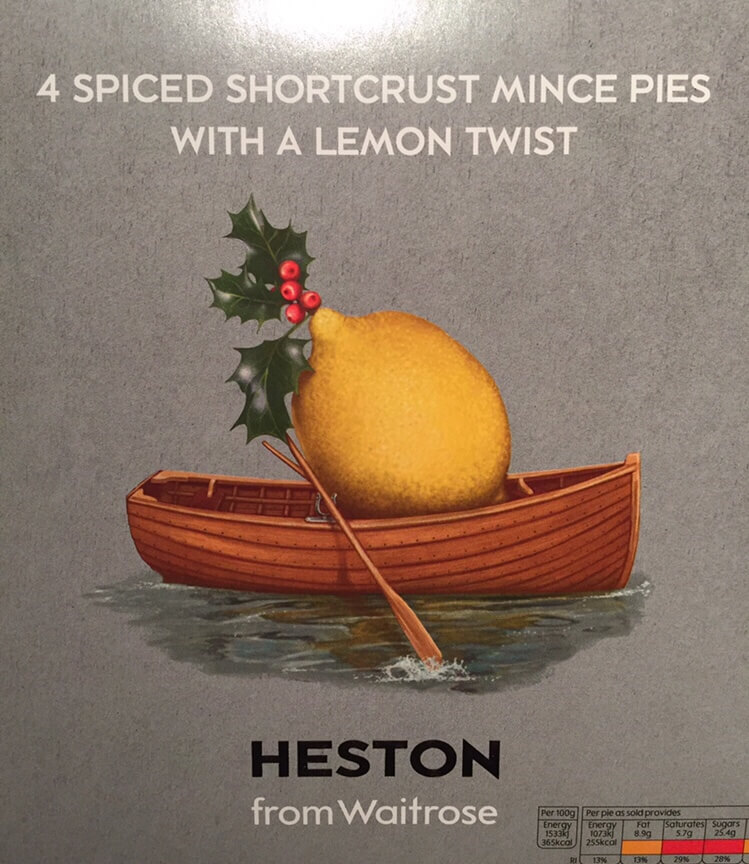 Heston (Waitrose) Mince Pie Review