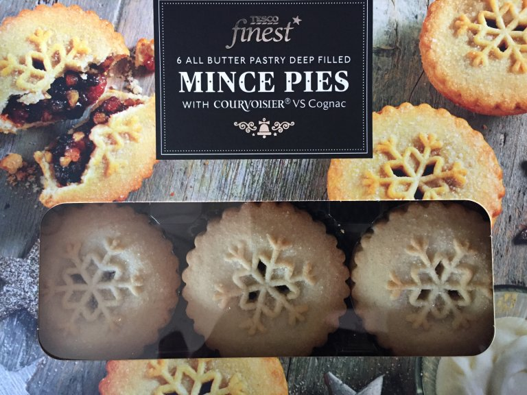 Tesco Finest All Butter Deep Filled Cognac Mince Pie Review