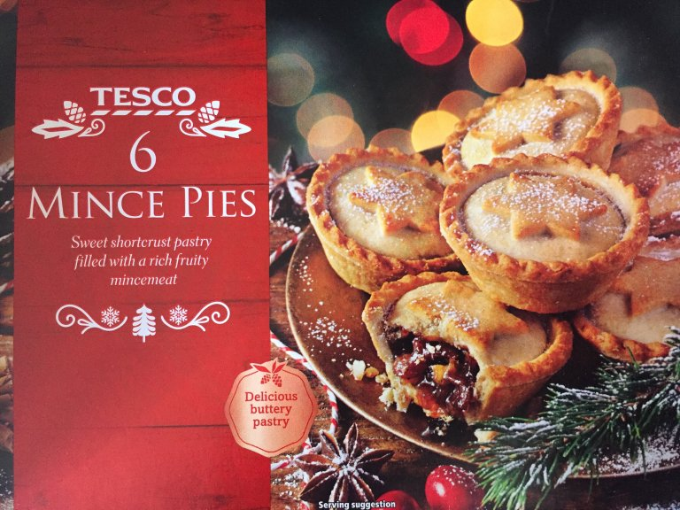 Tesco Mince Pie Review