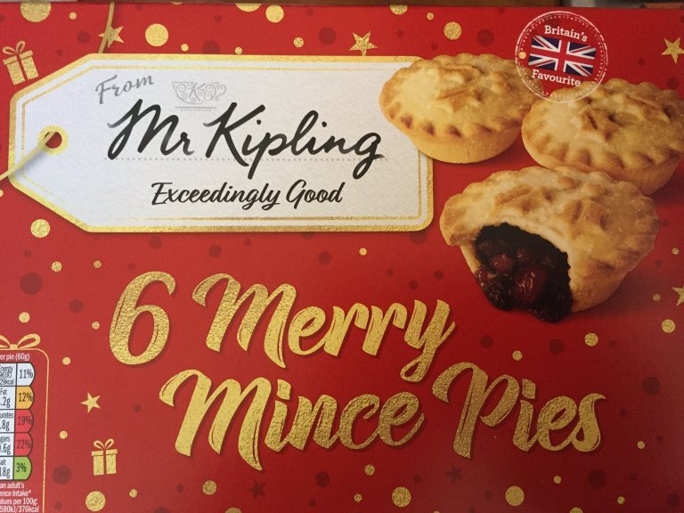 Mr Kipling Mince Pie Review
