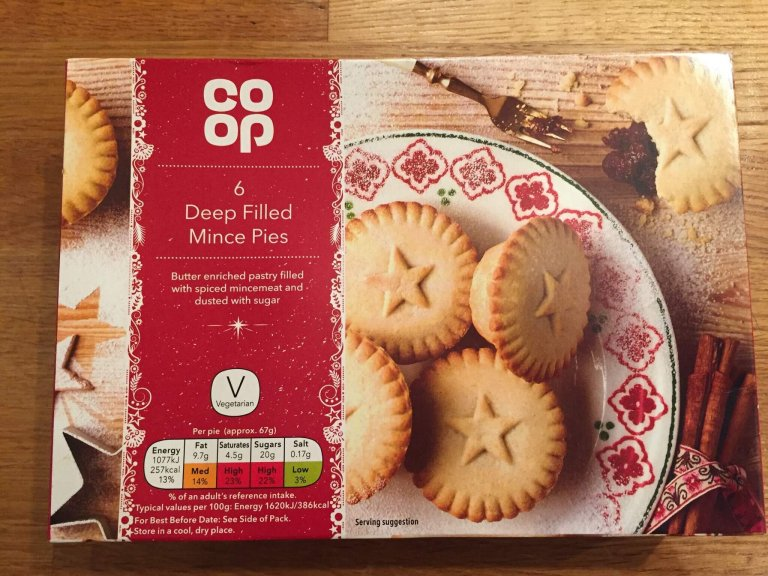 Co-op Deep Filled Mince Pie Review