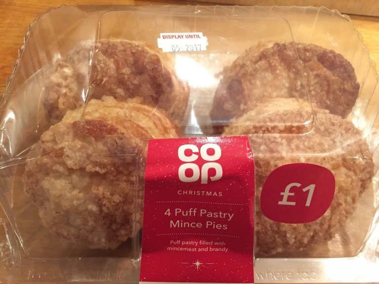 Co-op Puff Pastry Mince Pie Review