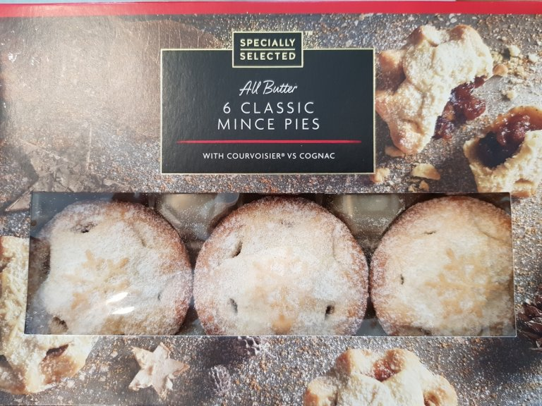 Aldi Specially Selected All Butter Classic Mince Pie Review 2018