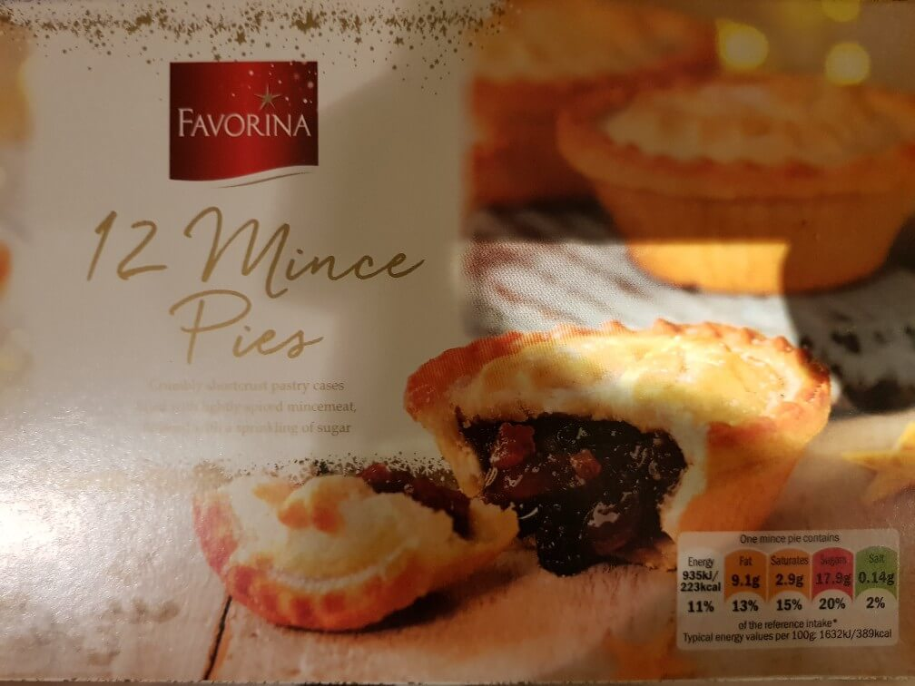 Lidl Favorina Mince Pie Review 2018