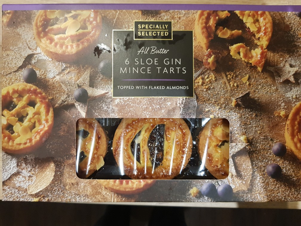 Aldi Specially Selected Sloe Gin Mince Tart Review 2018