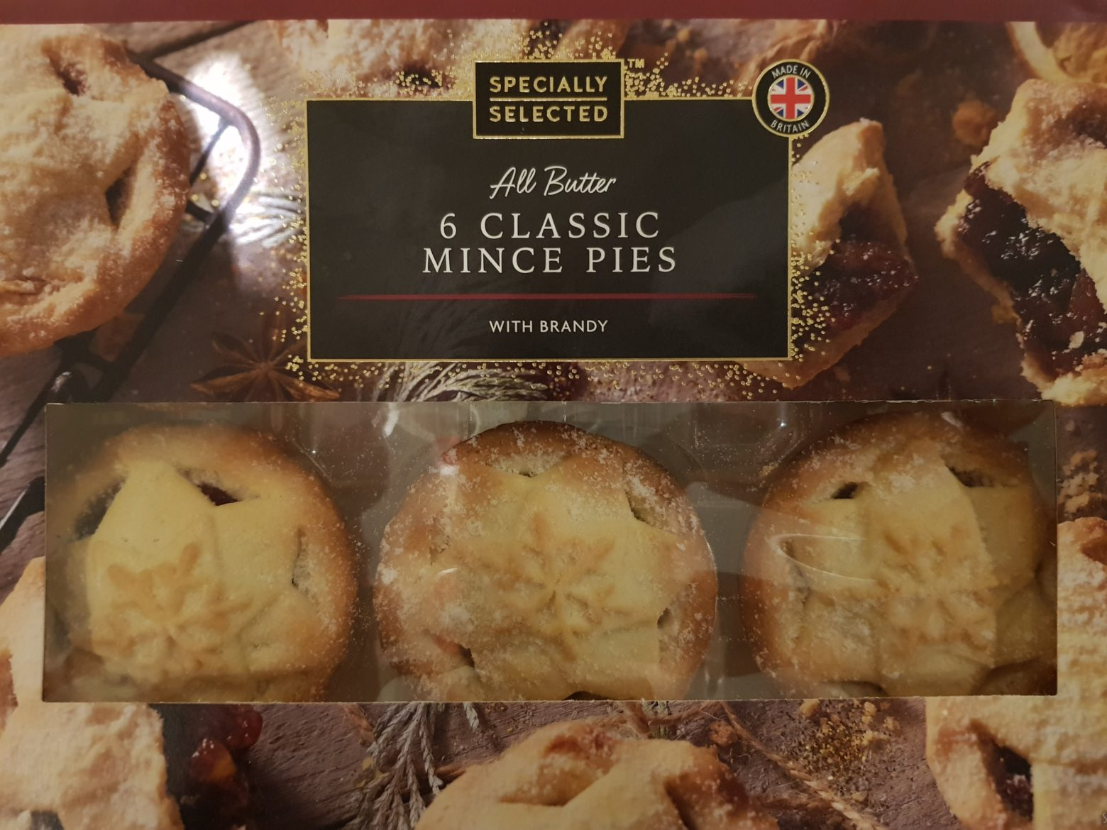 Aldi Specially Selected All Butter Classic Mince Pie Review 2019