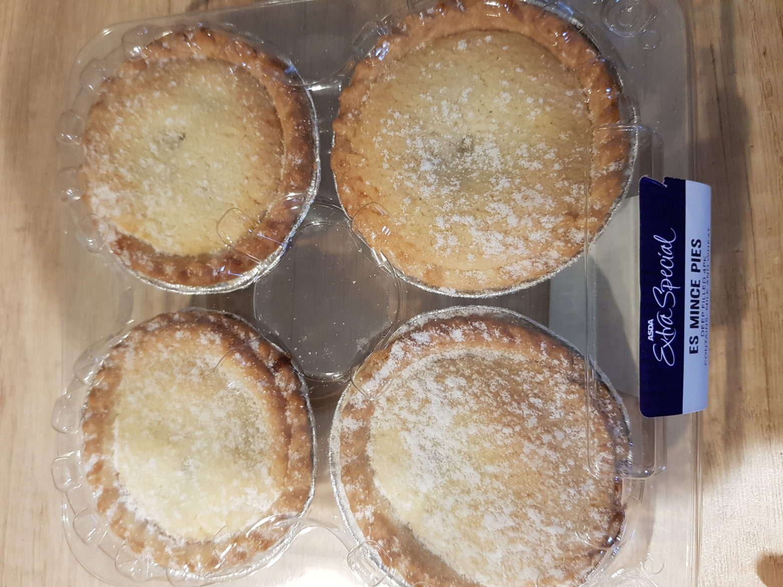 ASDA Extra Special Deep Filled Mince Pie Review 2019