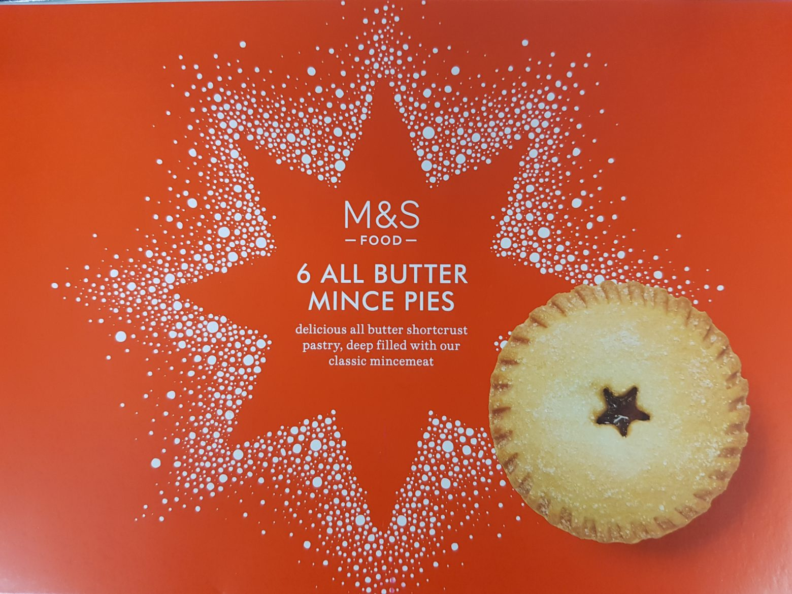 Marks & Spencer All Butter Mince Pie Review 2019