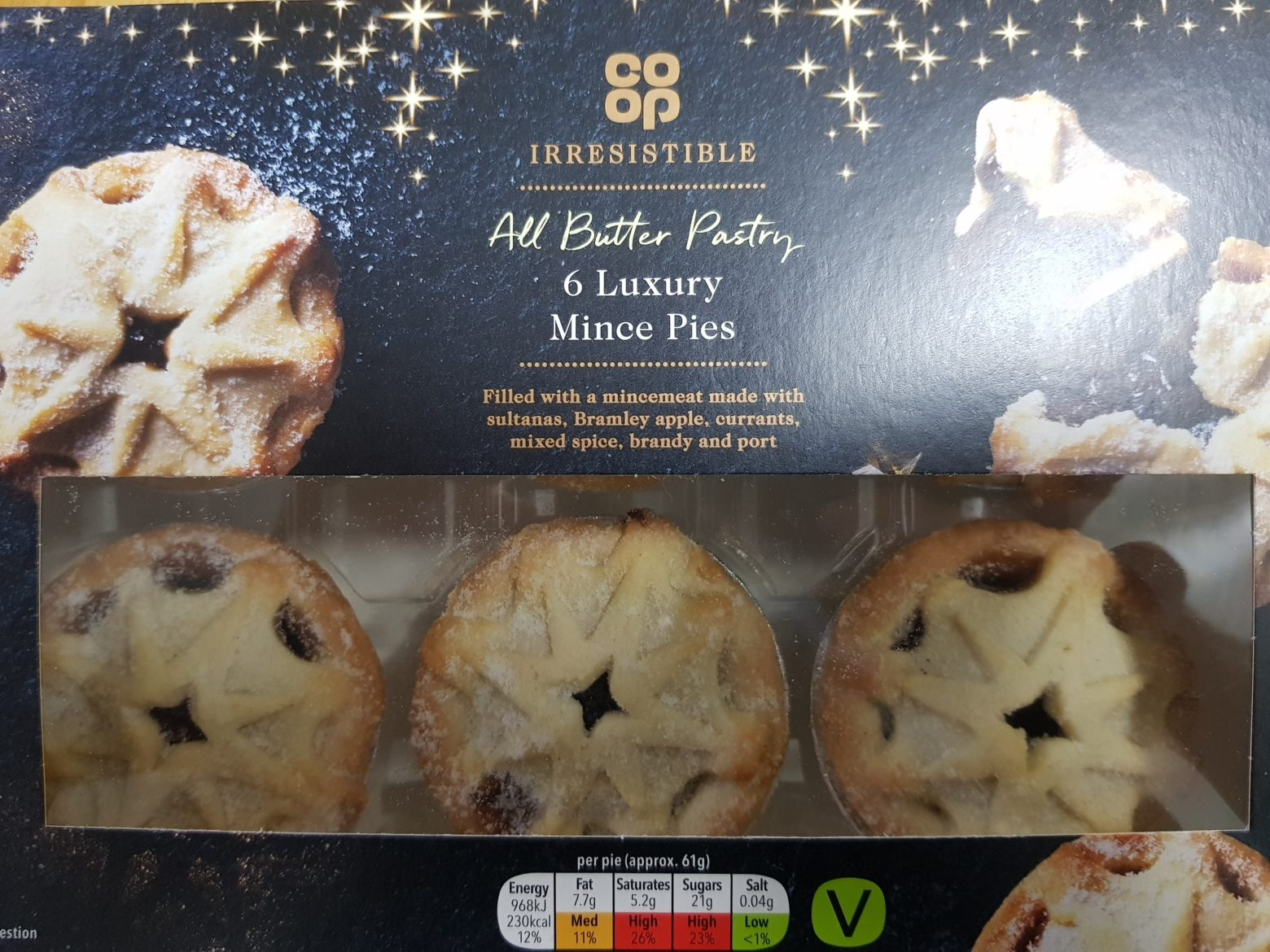 Co-op All Butter Pastry Luxury Mince Pie Review