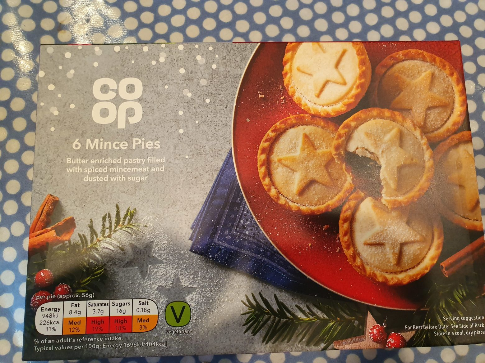 Co-op Mince Pie Review 2019