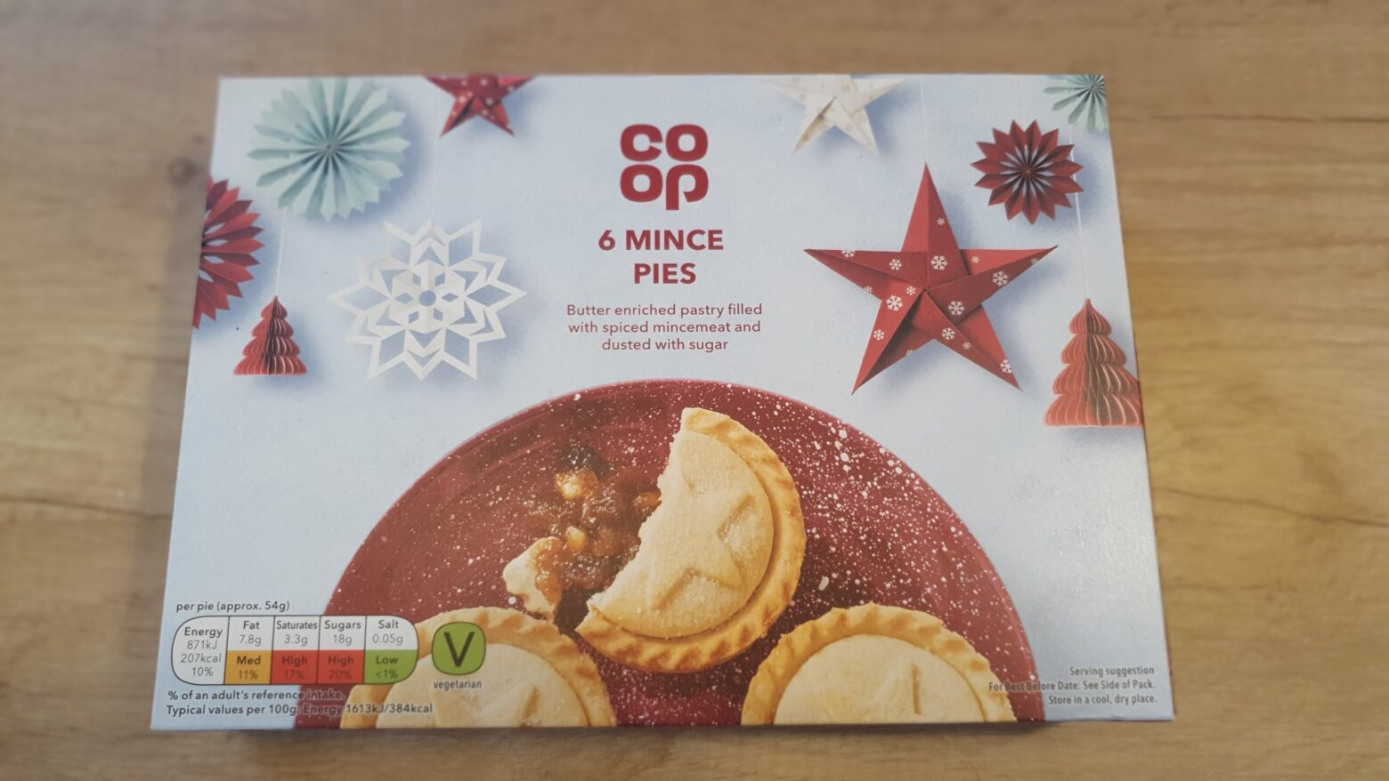 Co-op Mince Pie Review 2020